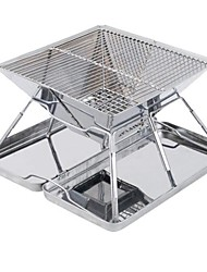 cheap -Hot Selling Outdoor Stainless Steel BBQ Grill Folding Grill Incinerator Field BBQ Charcoal Stove