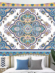 cheap -Bless International Indian Hippie Bohemian Psychedelic Peacock Mandala Wall Hanging Bedding Tapestry.