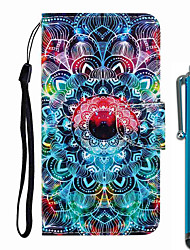 cheap -Case For Apple iPhone 11 / iPhone 11 Pro / iPhone 11 Pro Max Wallet / Card Holder / with Stand Full Body Cases Mandala PU Leather / TPU for iPhone 7 / 7 Plus / 8 / 8 Plus / X / XS / XR / Xs Max