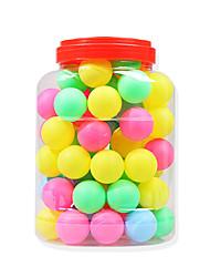 cheap -REIZ 60pcs 3 Stars Ping Pong Balls ABS Wearproof / Durable For Indoor Table Tennis Indoor