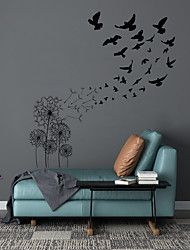 cheap -Landscape Wall Stickers Living Room, Removable PVC Home Decoration Wall Decal