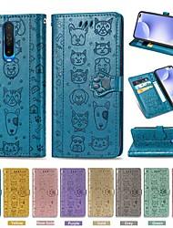 cheap -Case For Xiaomi Redmi 7/Mi 9 /Mi 9 SE Wallet/Card Holder/ with Stand Full Body Cases Solid Colored / Animal PU Leather For Xiaomi CC9/CC9e/Redmi K30/7A/8/8A/Note 7/Note 8/Note 8T/Note 8 Pro/Mi 10 Pro