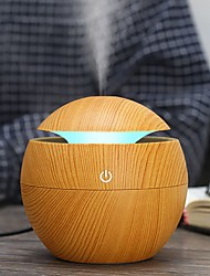 cheap -USB Aroma Humidifier ESSential Oil Diffuser Ultrasonic Cool Mist Humidifier Car Air Purifier Car Air Humidifier 7 Color Change LED Night light