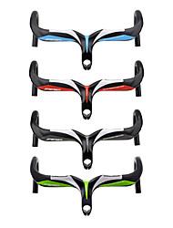 cheap -Carbon Fiber Road Bike Handlebar Drop Bar 31.8 mm 400/420/440 mm Lightweight Cycling Comfortable Road Bike Mountain Bike MTB Cycling / Bike Cycling Red Grey Green 3K Glossy