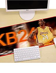 Недорогие -коврик для игровой мыши litbest / базовый коврик для мыши / коврик для клавиатуры 40 * 80 * 0,3 см, резина / ткань