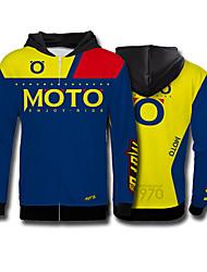 Недорогие -Мотокросс флисовая толстовка с длинными рукавами велоспорт джерси скоростной свитер спорт на открытом воздухе повседневная куртка moto gp