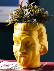 Недорогие -гильдия безработных философов Альберт Эйнштейн бюст суккулент - горшок для мелкого кактуса, цветы, травы и многое другое
