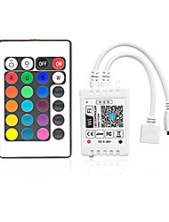 cheap -1pc Smart / WiFi / Remote Controlled Plastic RGB Controller for RGB LED Strip Light