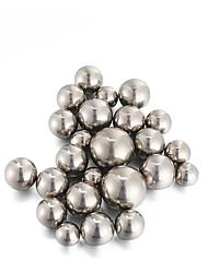 Недорогие -9мм углеродистой стали рогатки мяч серебра 32 шт