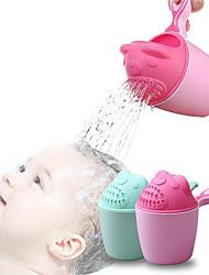 Недорогие -ребенок мультфильм медведь купальная чашка новорожденный ребенок душ шампунь чашка бейлер детская душевая ложка для ванны ванна для стирки 2 цвета