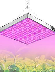 cheap -Grow Light for Indoor Plants LED Plant Growing Light Full Spectrum 45W 144LED Beads Easy Install Highlight Energy saving 85-265V Greenhouse Hydroponic Vegetable Flower