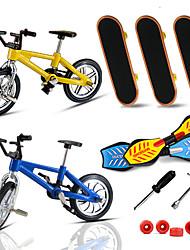 Недорогие -7 pcs Палец скейтборды пластик со сменными колесами и инструментами Сувениры для гостей для детских подарков / Металл / Детские