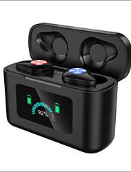 cheap -X16 TWS Gaming Earbuds Wireless Bluetooth Earphones Touch Control Stereo Cordless Headset For iPhone With 3000mAh Charging Box