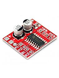 Недорогие -контроллер привода двигателя robocraze модуль привода двигателя 2-канальный реверсивный ШИМ