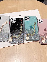 cheap -iPhone11Pro Max Starry Sky Love Necklace Wristband Phone Case XS Max Translucent Silicone 6/7 / 8Plus Case
