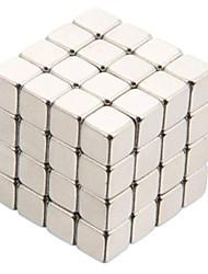 Недорогие -64 pcs Магнитные игрушки Конструкторы Сильные магниты из редкоземельных металлов Неодимовый магнит Магнит Куб Металл Взрослые Мальчики Девочки Игрушки Подарок