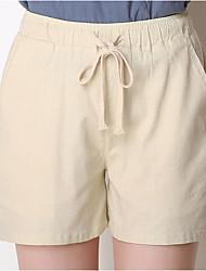 cheap -Women's Sporty Loose Shorts Pants - Print White Black Blue S / M / L
