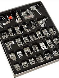 Недорогие -32 / 42шт швейная машина поставляет лапки лапок для швейных машин комплект ног с коробкой для брата певец janome