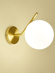 cheap -feimiao Modern Nordic Style Wall Lamps & Sconces Living Room Bedroom Copper Wall Light 110-120V 220-240V 40 W E26 E27