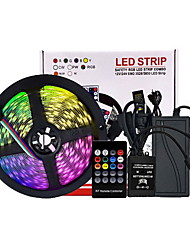 cheap -5m Flexible LED Light Strips Flexible Tiktok Lights 300 LEDs SMD5050 Multi Color Decorative TV Background 12 V
