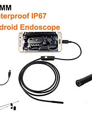 cheap -5.5mm Handheld Endoscope Ear Spoon Borescope 6 LED IP67 USB Real-Time Video Photos Monitoring Mobile Phones Computers