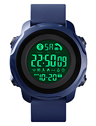 cheap -SK1572 Unisex Smartwatch Bluetooth Waterproof Sports Calories Burned Long Standby Message Control Stopwatch Pedometer Call Reminder Alarm Clock Chronograph