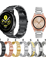 cheap -For Samsung Galaxy Watch 42mm / active / active2 / Gear Sport /S2 classic Metal Smart Watch Band Strap Stainless Steel