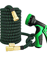 cheap -New 3 Times Telescopic Water Pipe Garden Water Pipe High Pressure Water Gun Garden Car Wash Water Pipe Black And Green Color One Generation