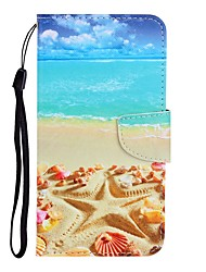 cheap -Case For Huawei P40 Lite/Nova 7SE/Y9 Prime 2019 Wallet / Card Holder / with Stand Full Body Cases Scenery PU Leather For Huawei P Smart Z/P20 Lite 2019/Nova 7 Pro/Honor V30/Play 3
