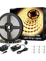 cheap -20m Flexible LED Light Strips Flexible Tiktok Lights 1200 LEDs 2835 SMD Warm Yellow Decorative TV Background 12 V