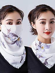 Недорогие -Шаль от солнца ветрозащитная защитная маска летом пылезащитный открытый безопасности солнцезащитный крем маска шелковый шарф мода тюль защиты от солнца шеи