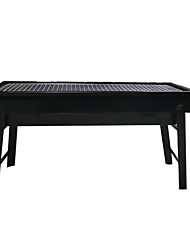 cheap -Portable Pull-out Barbecue Grill Outdoor More Than 5 People Home Charcoal Barbecue Field Tools Full Set Of Foldable