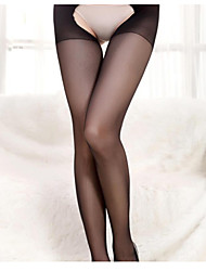 cheap -Women's Thin Pantyhose - Sexy 30D Black One-Size