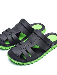 cheap -Men's Rubber Summer Sandals Breathable Dark Grey / Orange / Black / Green