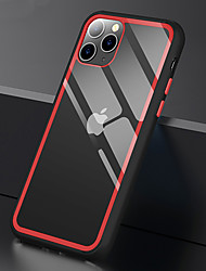 Недорогие -конфеты цвет бампера прозрачные чехлы для телефона для iphone se 2020/11 / 11pro / 11pro max / x / xs / xs max / 8 plus / 8 / 7plus / 7 прозрачный противоударный жесткий ПК телефон задняя крышка