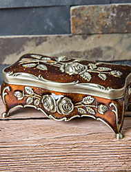 Недорогие -Упаковка ювелирных изделий - Светло-коричневый, Серебряный, Белый 10.8 cm 5.5 cm 4.5 cm / Жен.