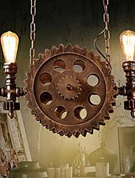 Недорогие -2-Light 32 cm Свеча Стиль Подвесные лампы пеньковый канат Старая латунь Традиционный / классический / Северный стиль 220-240Вольт
