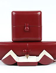 Недорогие -Упаковка ювелирных изделий - Красный 4 cm 7.5 cm 5.5 cm / Жен.
