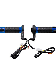 cheap -12V Third Gear Temperature Adjustable Aluminum Alloy Electric Motorcycle Handlebar 1 pair(right and Left)