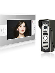 cheap -7 Inch Wire Video Door Phone Home Intercom System with Unlock Monitor Function P812M11