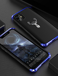 cheap -iPhone11Pro Max Metal Limited Edition Elk Mobile Phone Case XS Max Anti-fall And Impact Metal Three-stage 6/7 / 8Plus Protective Cover