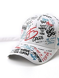 cheap -Infant Unisex Geometric Hats & Caps White / Black S