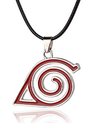 cheap -Cosplay Accessories Inspired by Naruto The incense eye of the Naruto Anime Cosplay Accessories Necklace Alloy Women's Men's Halloween Costumes