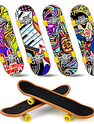 cheap -12/25 pcs Finger skateboards Mini fingerboards Finger Toys Plastic Office Desk Toys Cool with Replacement Wheels and Tools Skate Kid's Teen Party Favors  for Kid's Gifts