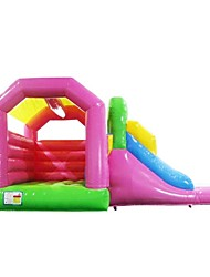 cheap -Manufacturers Supply Inflatable Children's Small Slide Small Castle Small Trampoline Indoor And Outdoor Large Slide Castle Custom