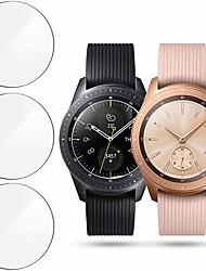 Недорогие -3 шт. Протектор экрана для Samsung Galaxy Смотреть 46 мм / 42 мм умные часы из закаленного стекла фильм против царапин высокой четкости