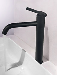 cheap -Bathroom Sink Faucet - Rotatable Nickel Brushed Centerset Single Handle One HoleBath Taps
