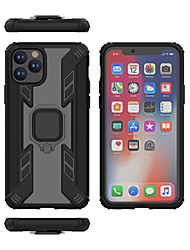 cheap -Case For Apple iPhone 11 / iPhone 11 Pro / iPhone 11 Pro Max Frosted Back Cover Tile TPU / Metal