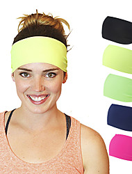 cheap -Fabric Headbands Durag Sports Adjustable Bowknot For Holiday Street Sporty Simple Apple Green Dark-Gray Depression Green 1 Piece / Women's