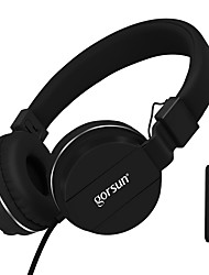 cheap -Gorsun GS779 BASS Headphones Lightweight Stereo Foldable Wired Headphones Adjustable Headband 3.5mm AUX for Phones Computer PC Music Mp3